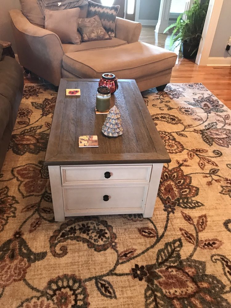 Bolanburg Coffee Table with Lift Top in 2020 Coffee