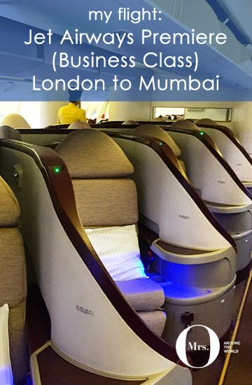 Jet Airways Premier Business Class Review London To Mumbai With