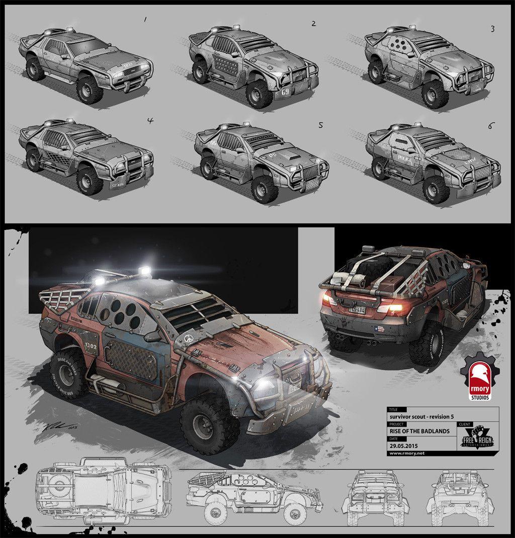 Обои sci-fi ww2 allied standard car, Matthias Develtere. Рендеринг foto 15