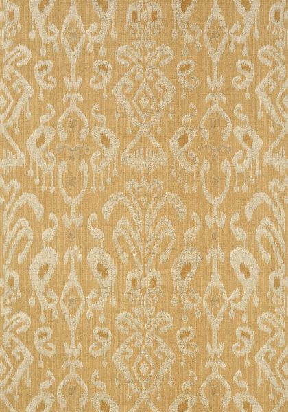 Bravado Ikat #wallpaper in #tobacco from the Neutral Resource collection. #Thibaut