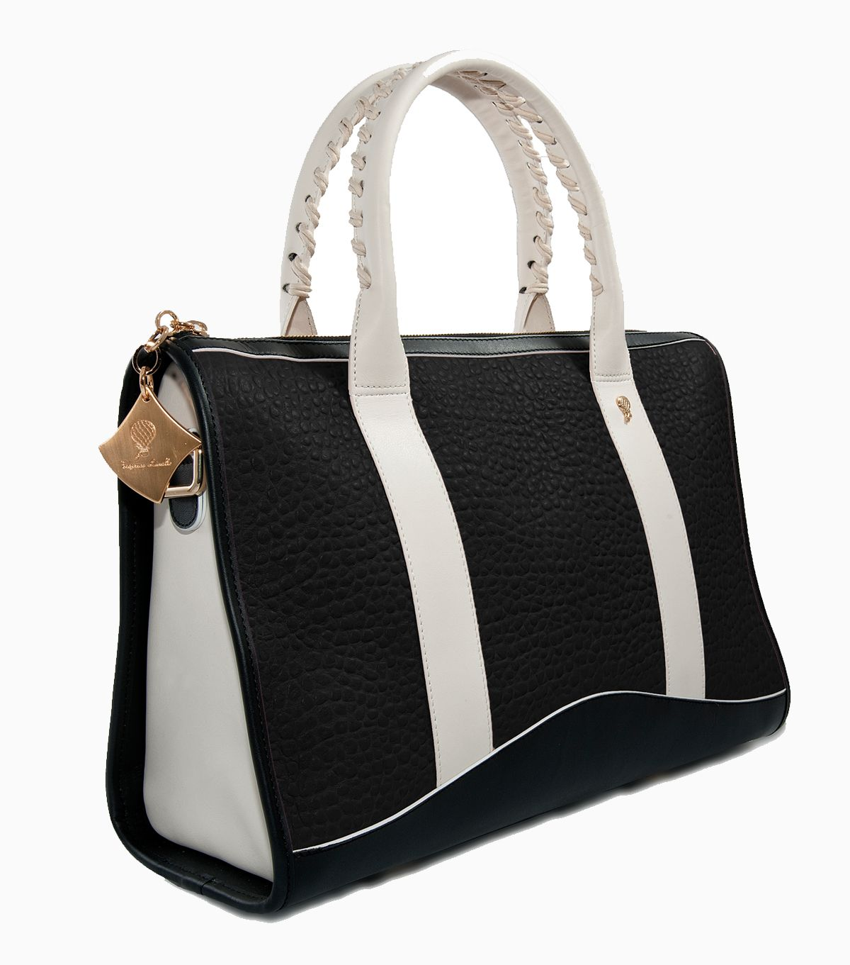 Jade Shopper  Black     www.federicalunello.com #federicalunello #bag #handmade #madeinitaly #accessories