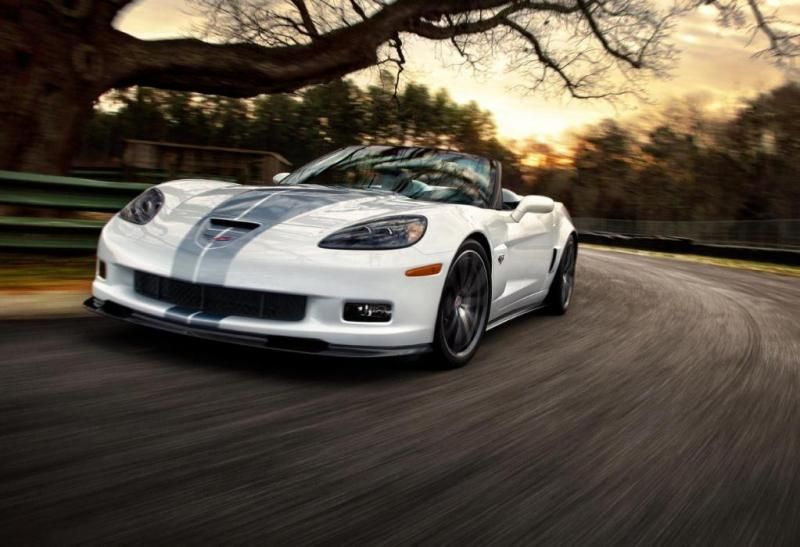 2013 Chevrolet Corvette Convertible 427 60th Anniversary