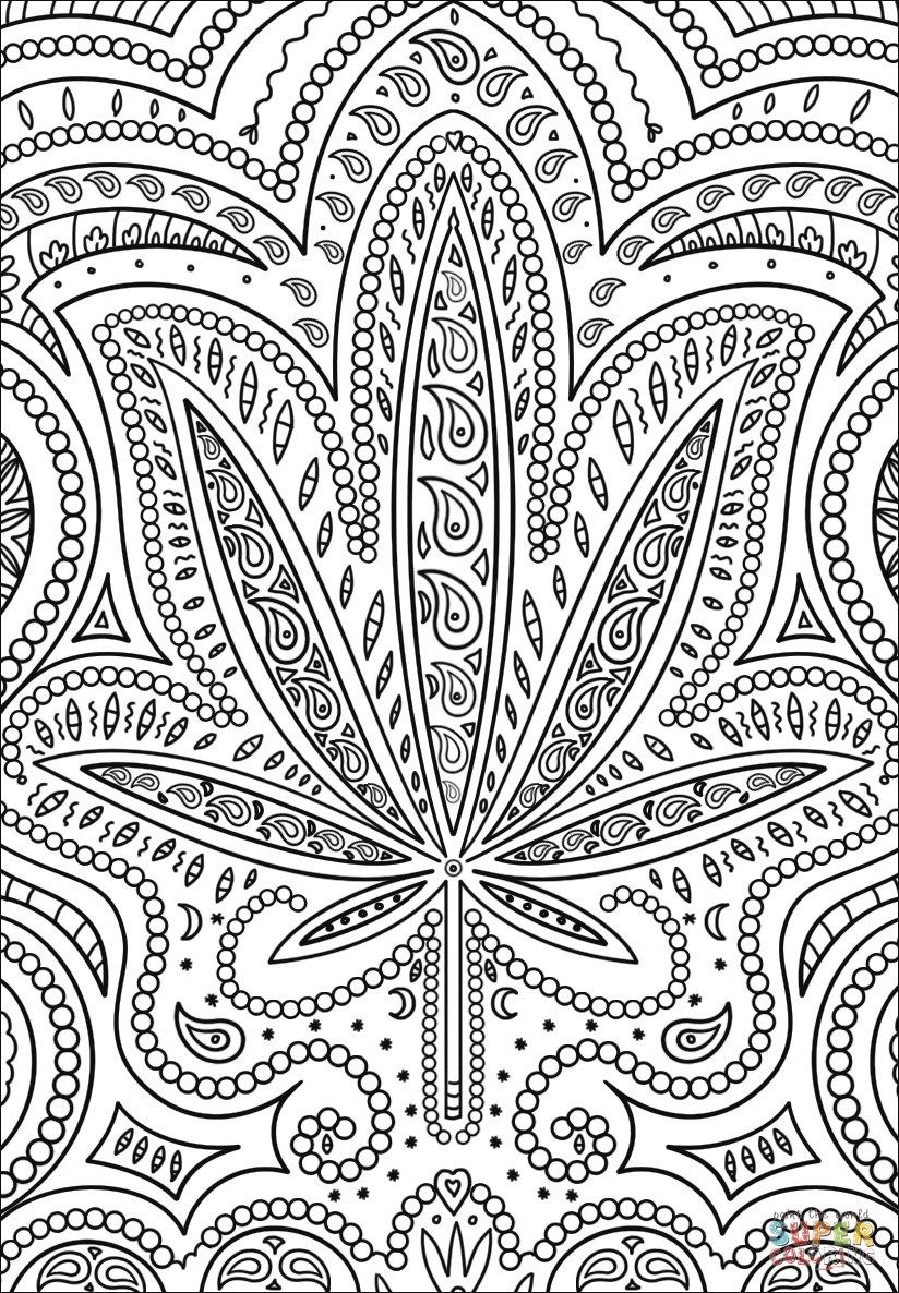 25+ Awesome Photo of Weed Coloring Pages #adultcoloringpages