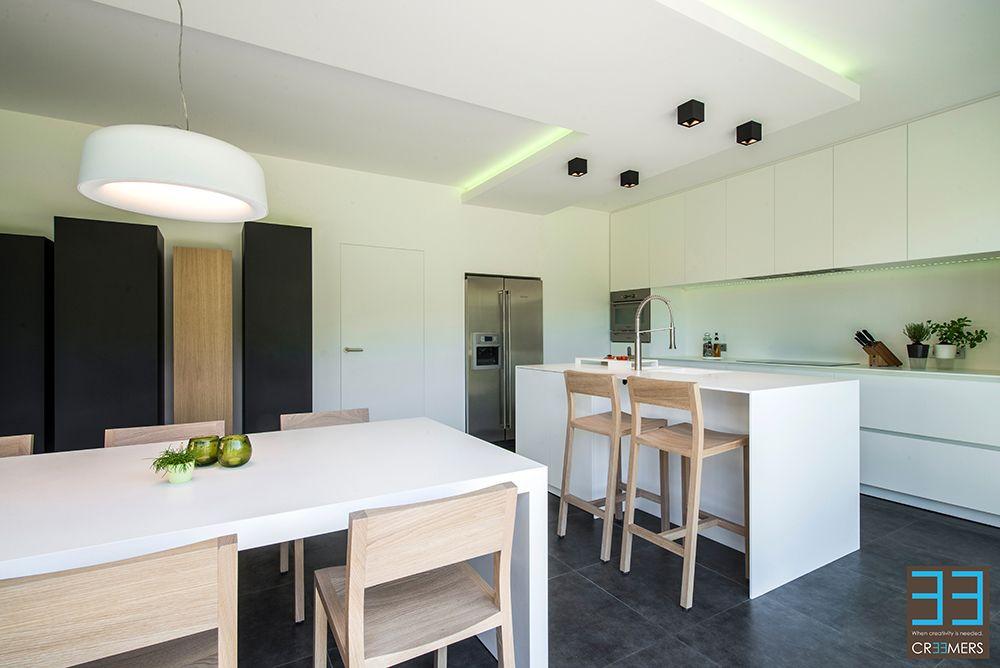Keuken ontwerp door interieurarchitect ken creemers cr mers