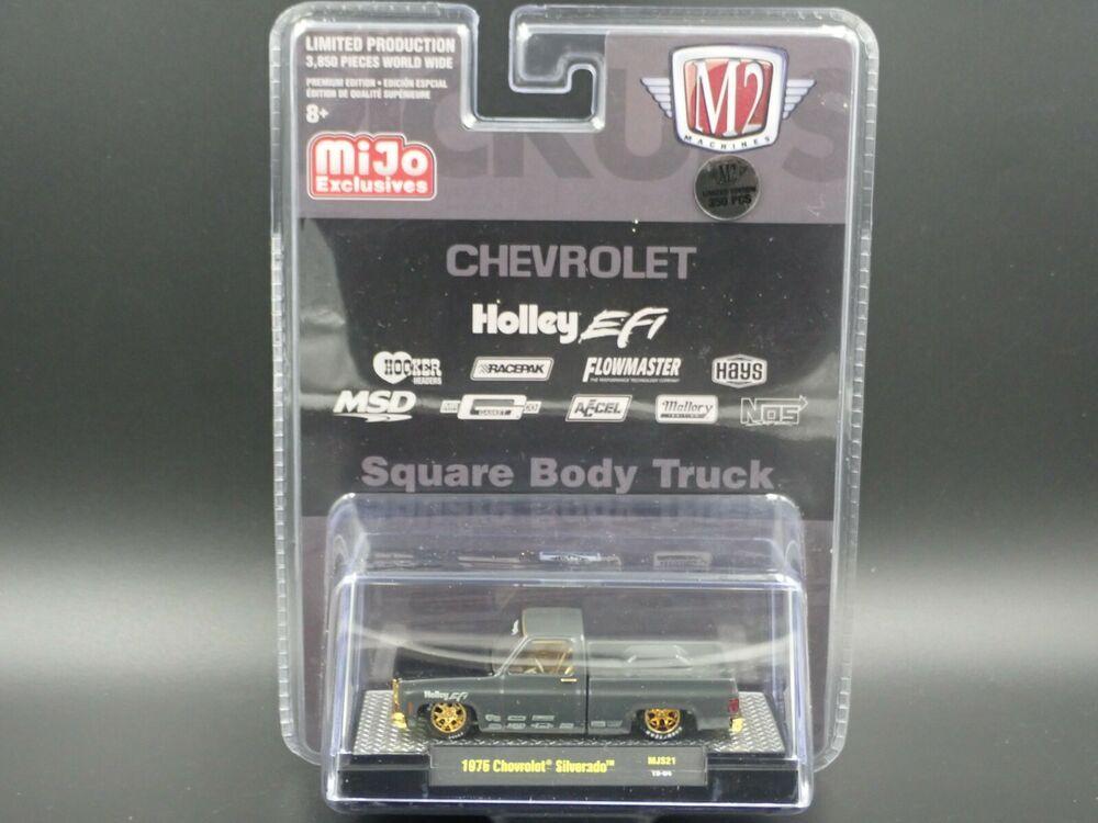 2020 M2 Machines 1975 Chevrolet Square Body Truck Gold Chase 1 350 Mjs21 Chase M2machines Chevrolet Square Body Chevrolet Trucks