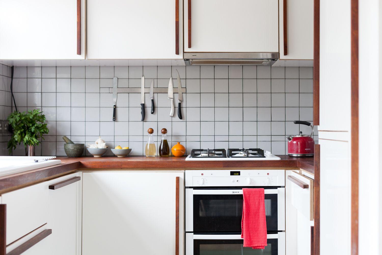 Best Kitchen Iroko Worktop Melamine Ply Doors Handmade 400 x 300