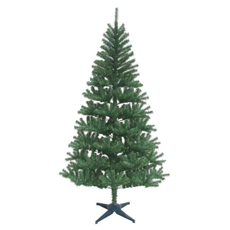 180cm 6 Foot Green Canadian Pine 441 Tips Christmas Tree Buy Online At Qd Stores Christmas Tree Tree Xmas Tree Decorations