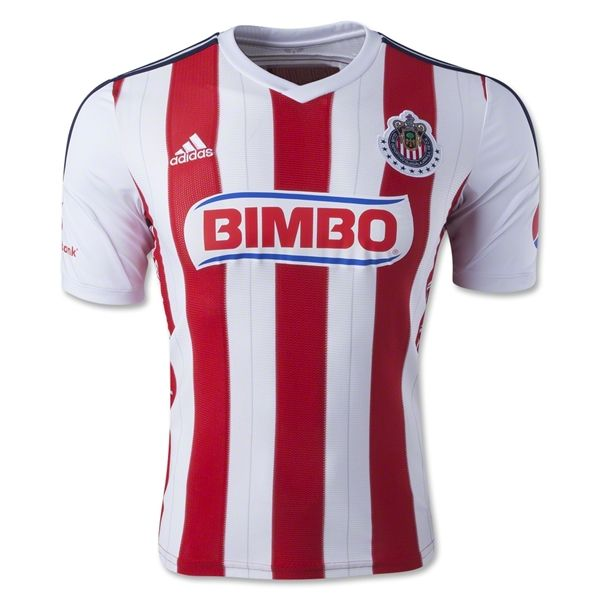 save off fe29f 846dc Chivas 14/15 Home Soccer Jersey | Jersey | Soccer, Football ...