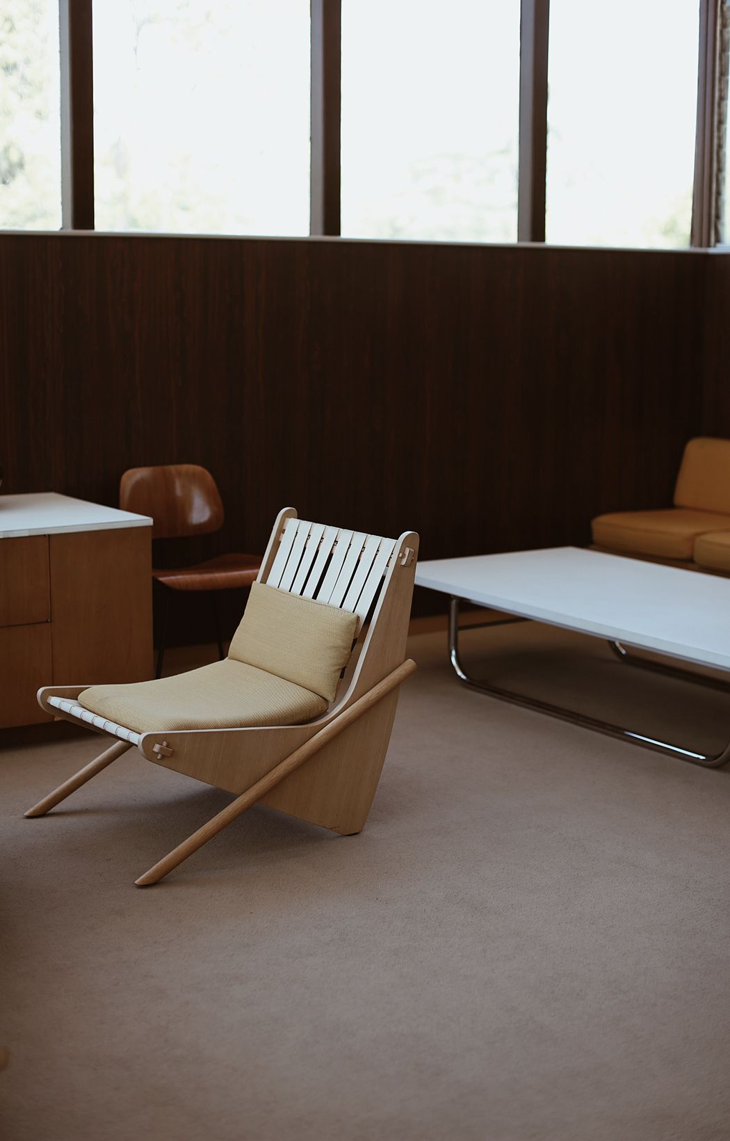 At Richard Neutra Vdl House Studio Los Angeles Furniture