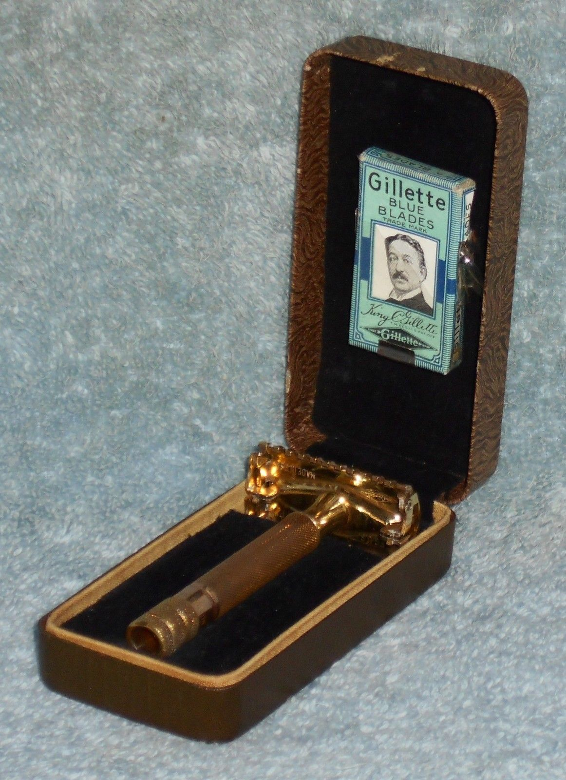 Pin by Rick Andrews on 1937 Gillette Sheraton Safety Razor