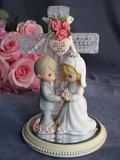 Cake topper yes its Precious Moments but i loved it My