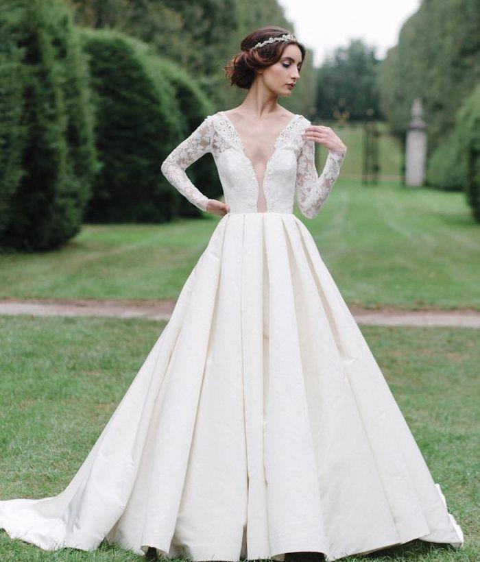 Elegantes Vestidos de Novia de diseño moderno   Vestidos de novia ...