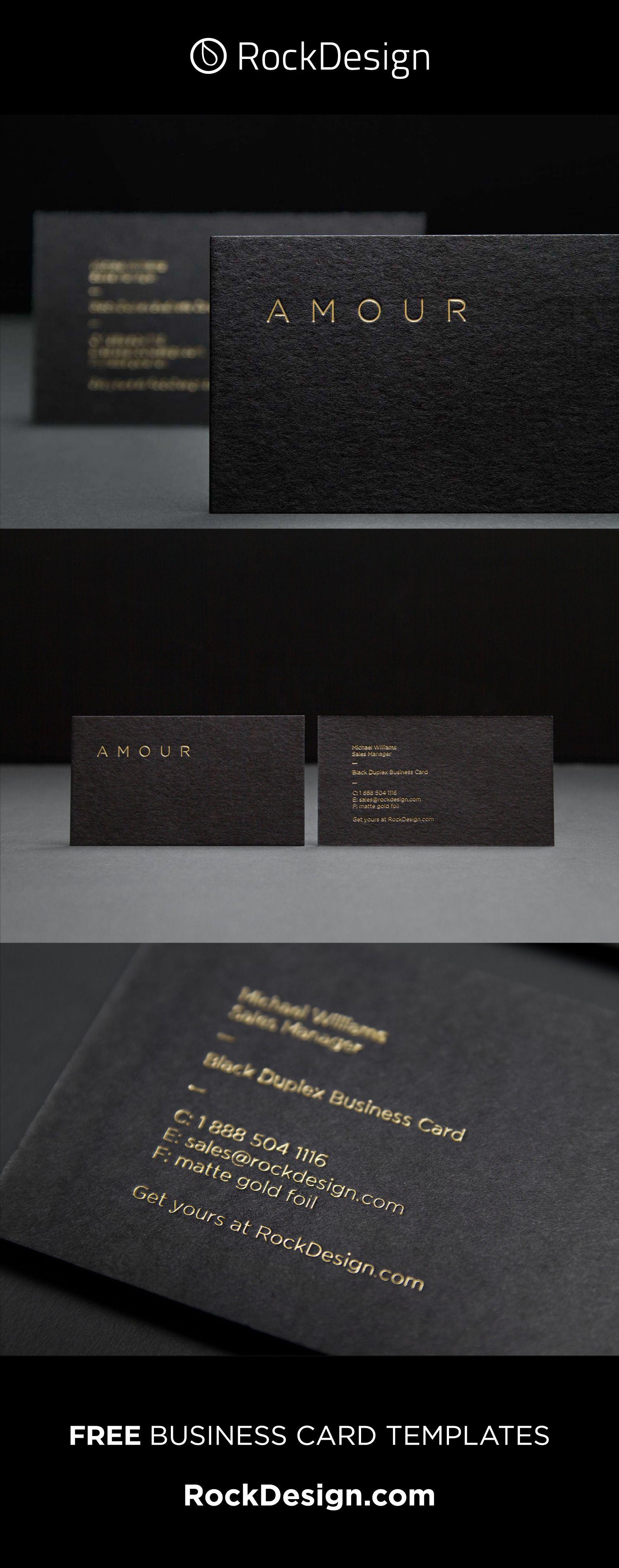 Fancy Unique Black Business Card Design Template Amour Elegant Business Cards Design Classic Business Card Business Card Design Black