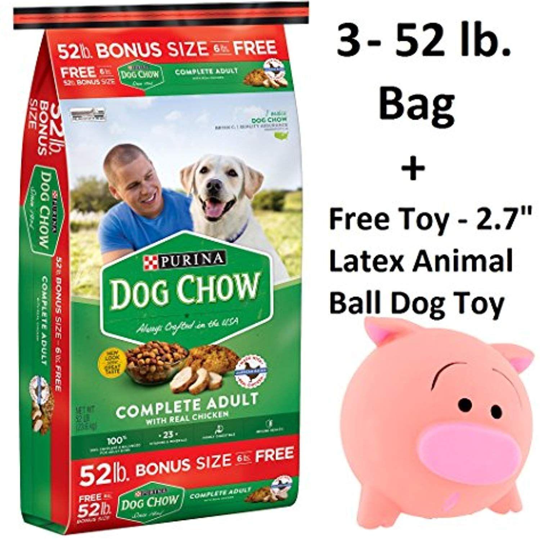 Purina Dog Chow Complete Adult Dog Food 52 Lb Bag 3 Bags Of 52lb