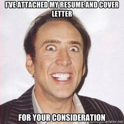 Resume Meme Nicholas Cage Face Happy Birthday Meme Birthday Meme