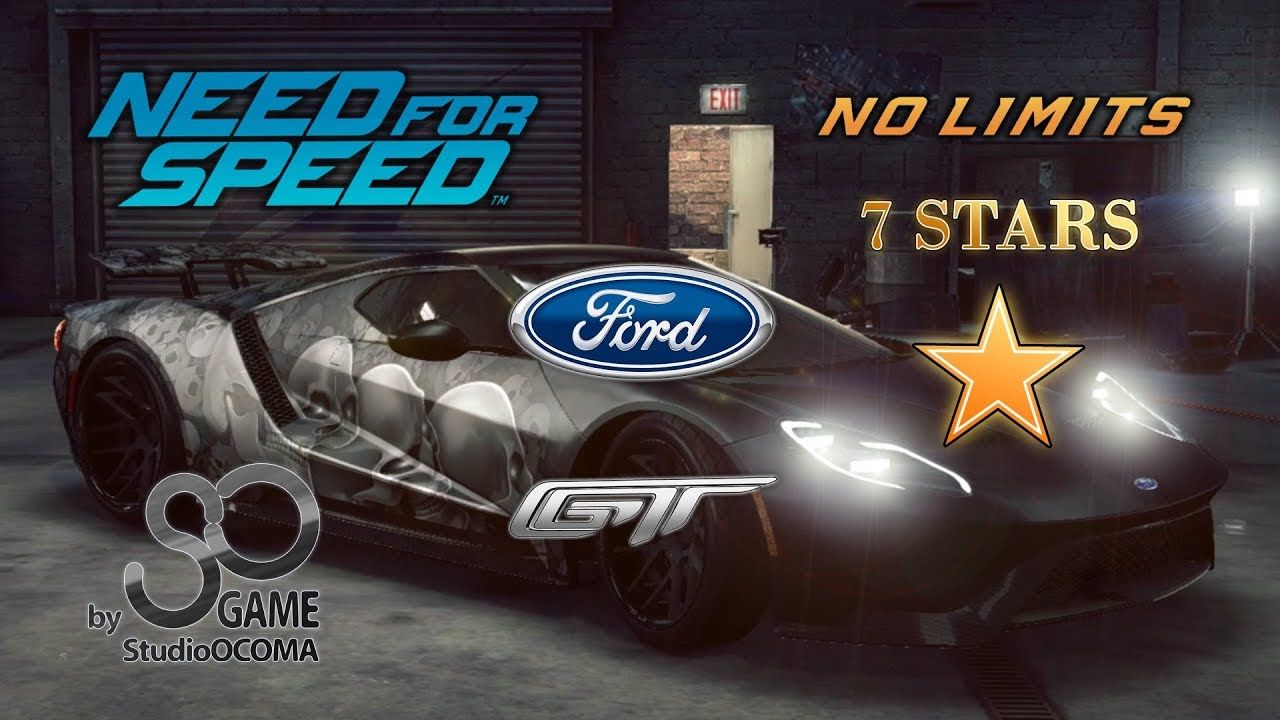 Ford Gt  Stars Race Need For Speed No Limits