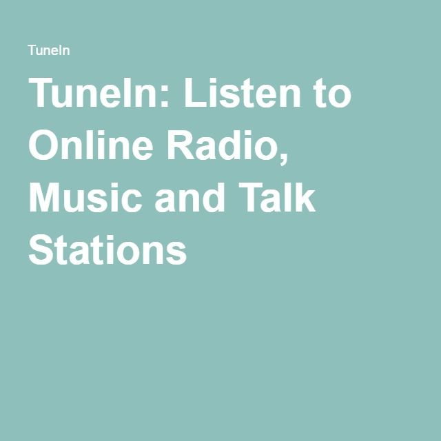 TuneIn: Listen to Online Radio, Music and Talk Stations | Women's