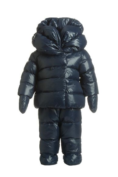 f8b77253a Hilariously puffy snowsuit for Grey