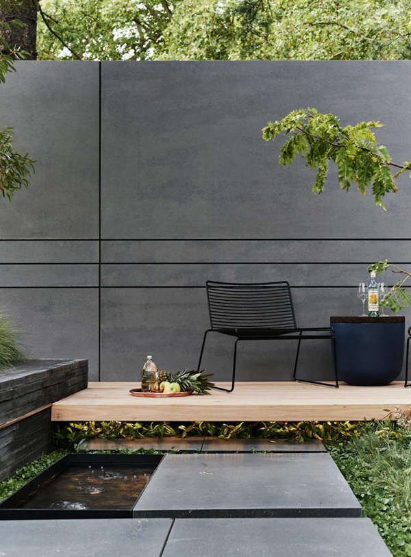 Small garden sanctuary (desiretoinspire net) is part of Small garden Furniture - Small but perfectly formed  Courtyard garden inspiration from Melbournebased landscape designers Acre