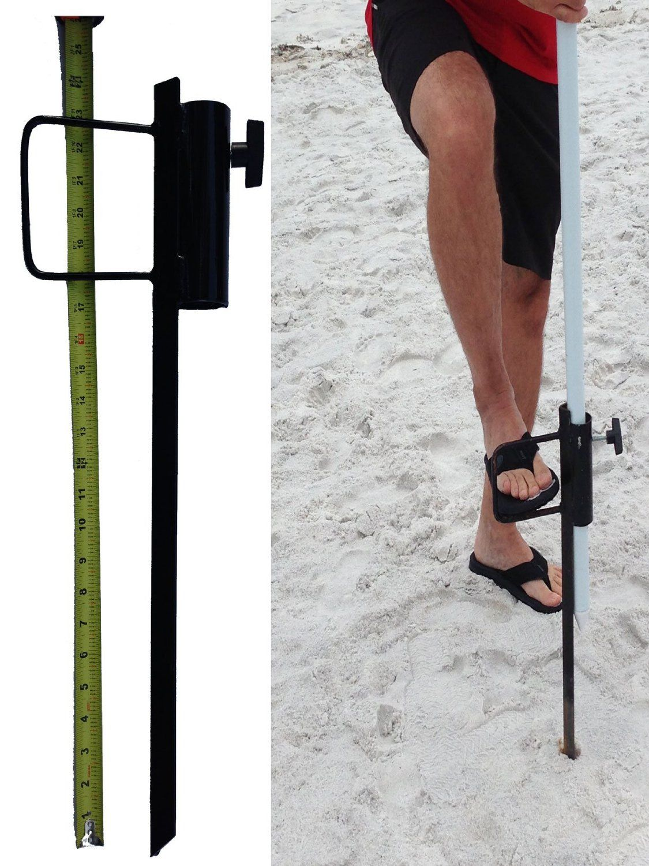 Outdoor beach umbrella stand Great sand
