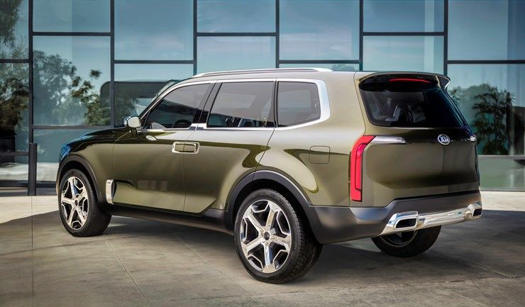 Kia Telluride Concept Suv Kia Kia Motors