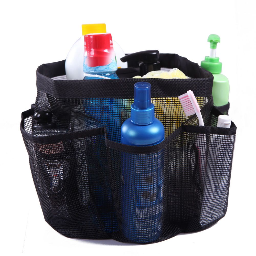 Hde Packable Mesh Shower Bag Caddy Quick Dry Bathroom Carry Tote Toiletry And Bath Organizer For College Dorms Gym Shower Caddy Bath Organization Caddy Bag