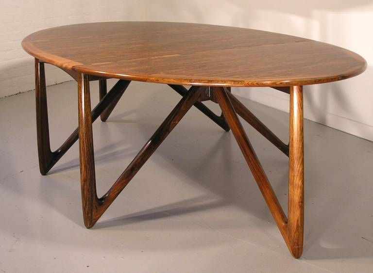N Kofoed 1964 Dining Table From A Unique Collection Of Antique