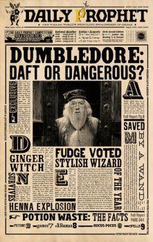DP: Dumbledore Daft of Dangerous by WiwinJer