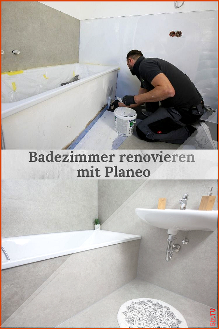 Badezimmer Renovieren Mit Planeo Bathroom Renovations Bathroom Improvements Diy Bathroom
