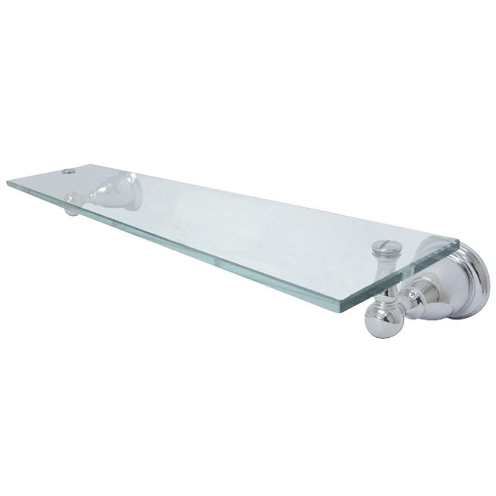 Kingston Tempered Bathroom Glass Shelves Chrome Glass Shelf BA1759C