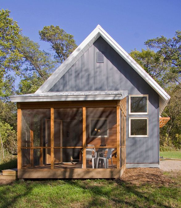 Murphy Small House: Passive Solar Design under 800 sf. Ecco deep ...