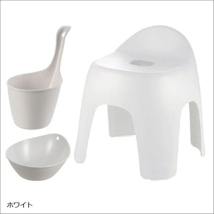 楽天市場 バスチェア セット 風呂椅子 背もたれ付 日本製 お風呂 椅子