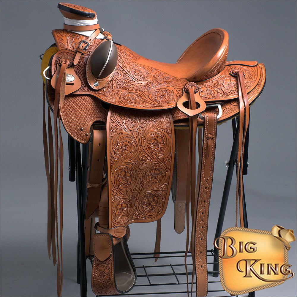 WD005OLWST-F HILASON BIG KING WESTERN WADE RANCH ROPING