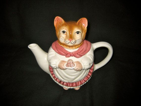 Mrs. Tabitha Teapot by The Darling Boutique on Etsy, $4.00