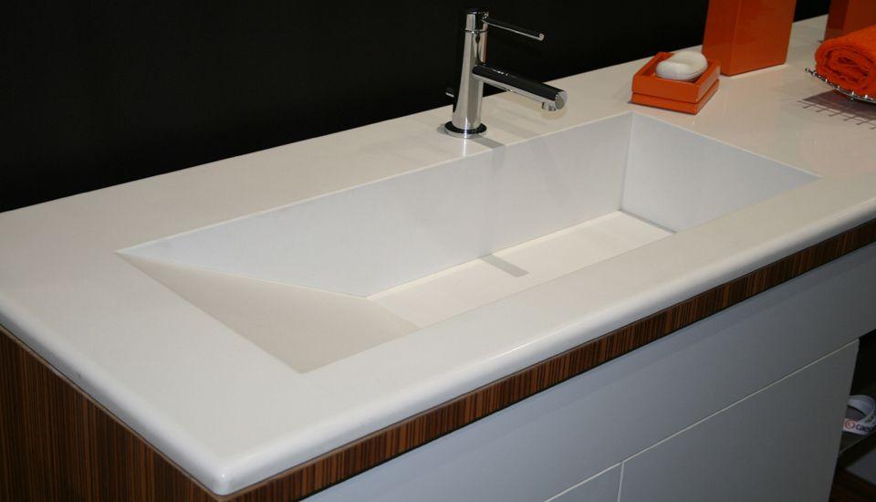 Caesarstone blizzard countertop quartz countertop caesarstone sink - Caesarstone sink kitchen ...