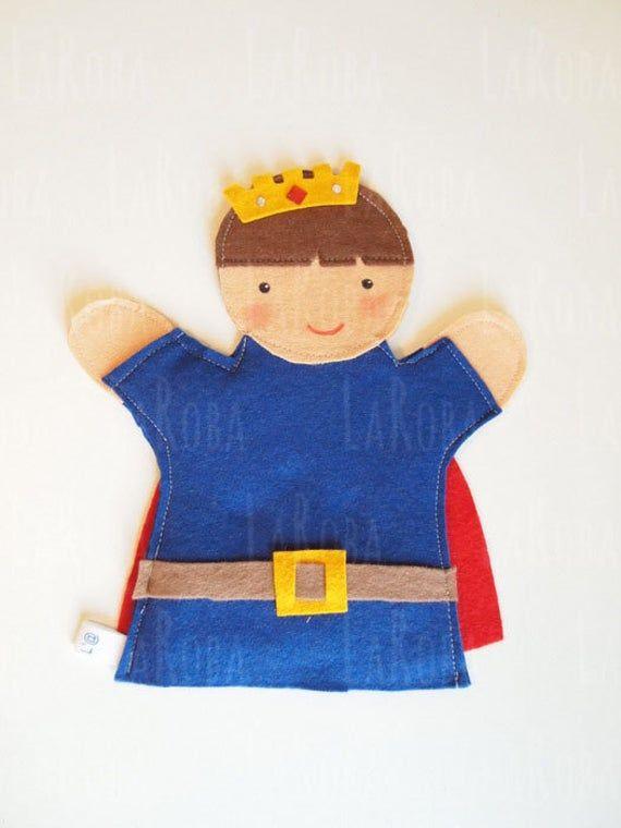 Hand puppet: prince image 1 #handpuppets