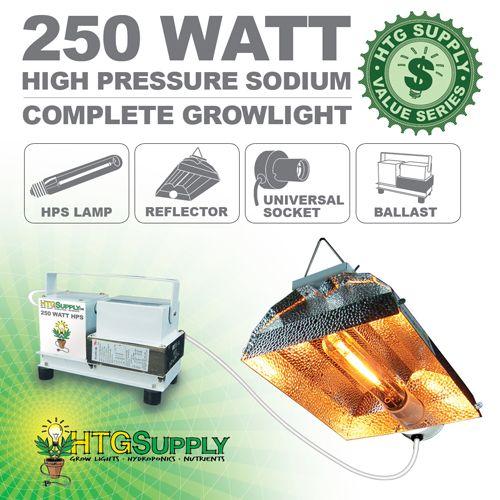 Htgsupply 250 Watt Hps Grow Light Hps Grow Lights Grow Lights Shop Lighting