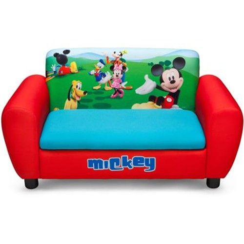 Sofa Infantil Mickey Mouse Disney Upholstered Couch Upholstered
