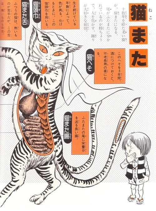 NEKOMATA ( drawn by Shigeru Mizuki )