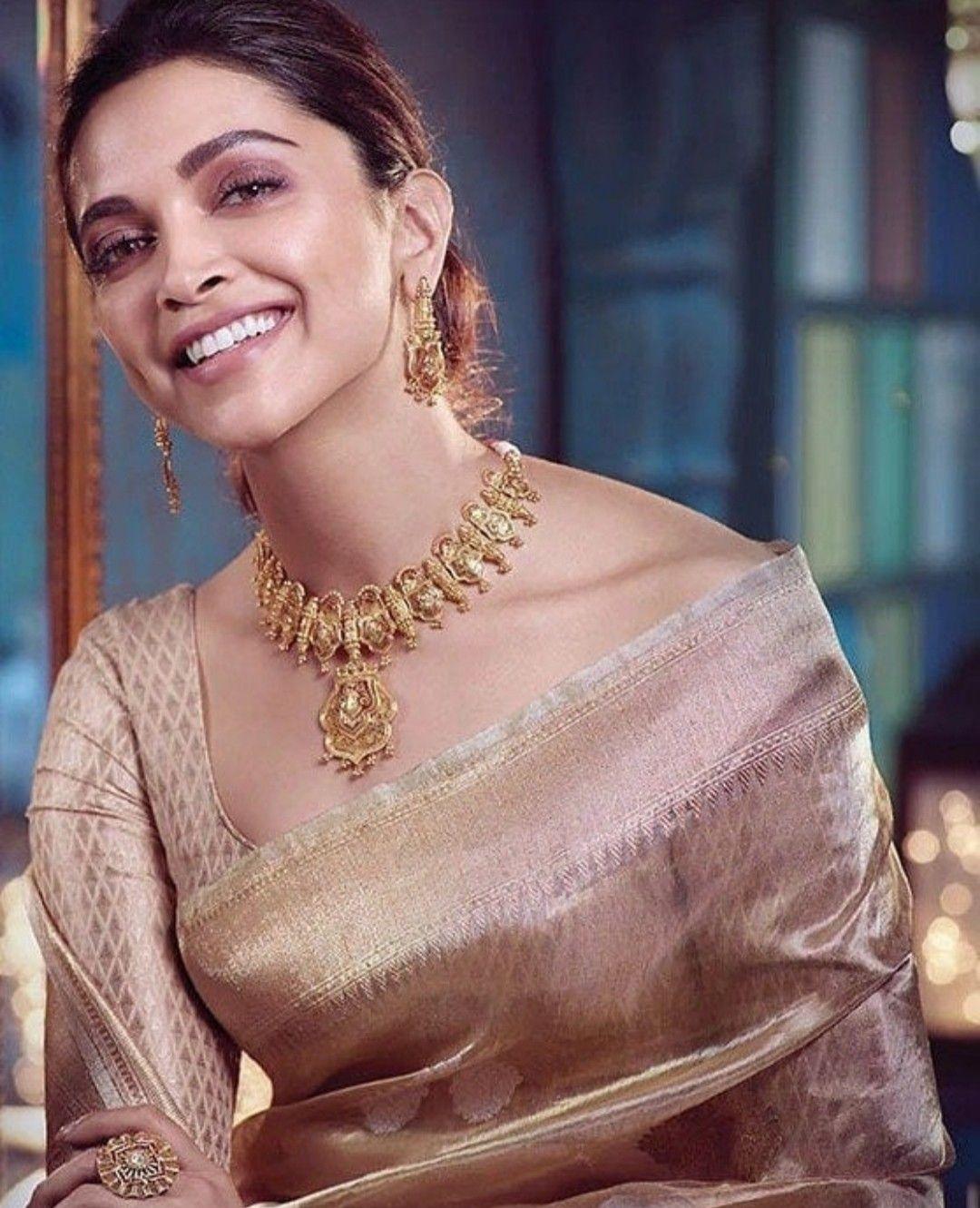 Deepika Padukone for Tanishq Virasat | Deepika padukone ...