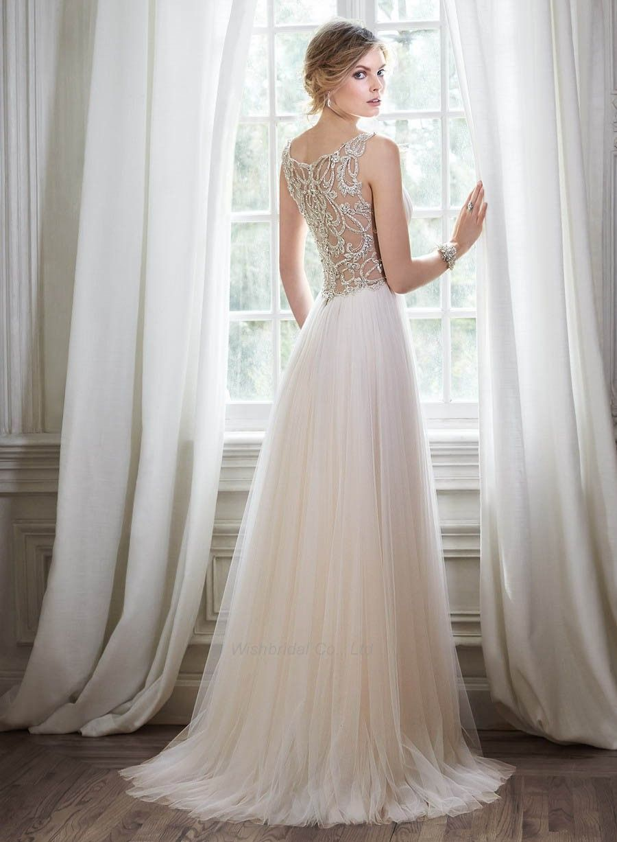 Collection Flowy Wedding Dresses Pictures - Reikian