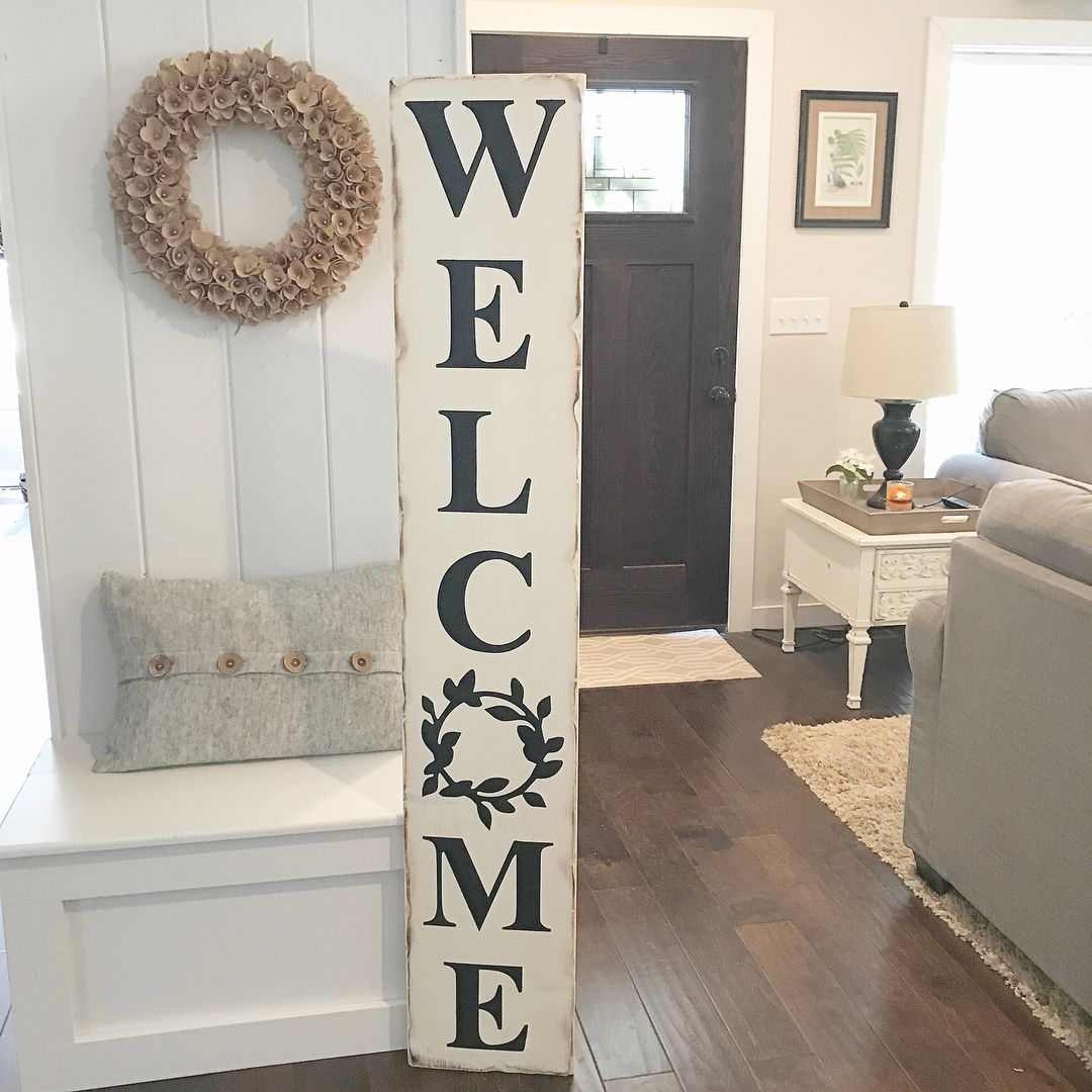 Fyi We Are Running A Sale On All Of Our Welcome Boards No Coupon Code Necessary Country Farmhouse Decor Diy Diy Farmhouse Decor Welcome Signs Front Door