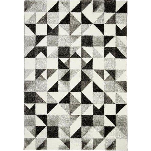 Cooler Webteppich im geometrischen Design - ein toller Hingucker