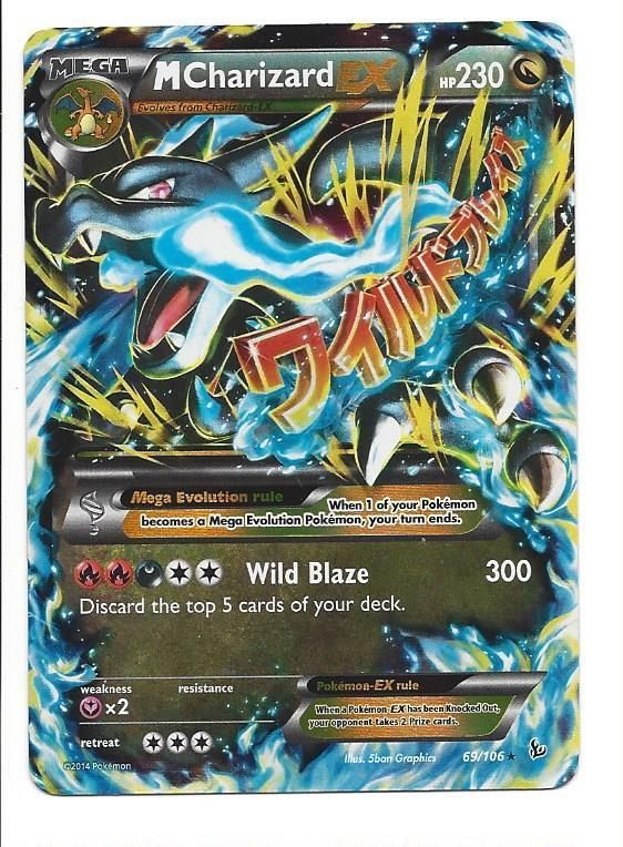 pokemon mega charizard ex card | 1000x1000.jpg