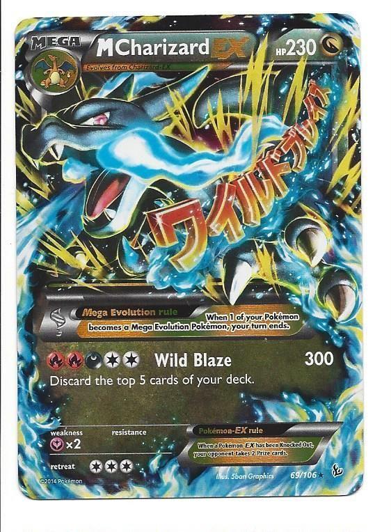 pokemon mega charizard ex card | 1000x1000.jpg