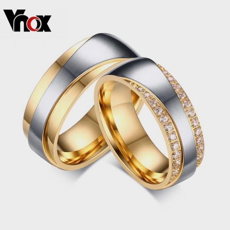 Wedding Rings For Women Men Promise Lover Valentine S Day Gift