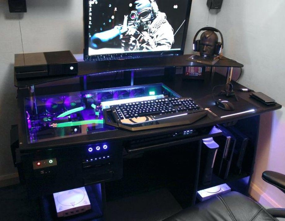 21 Ultimate List Of Diy Computer Desk Ideas With Plans Diy Computer Desk Gaming Computer Desk Custom Computer