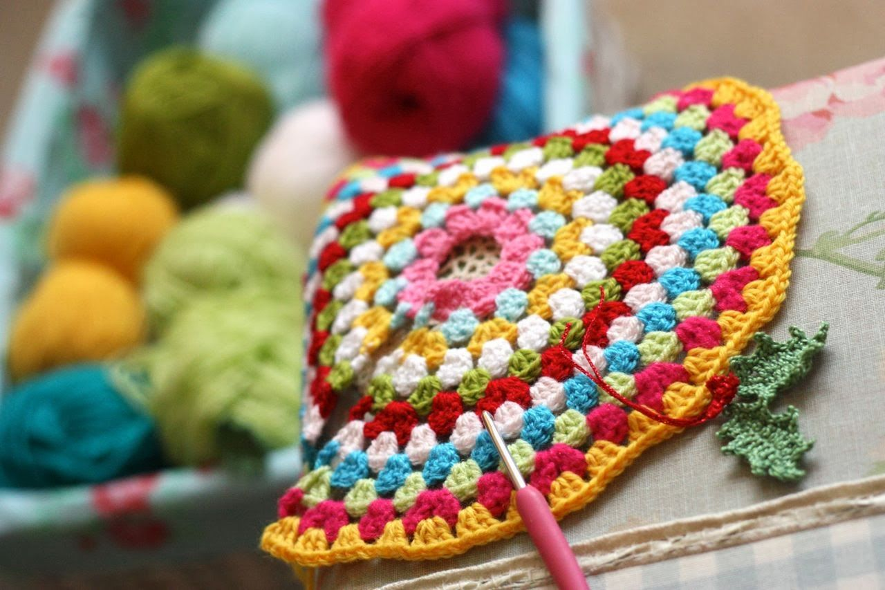 Cherry Heart: Dressing Up | Crocheted afghans...and so much more ...