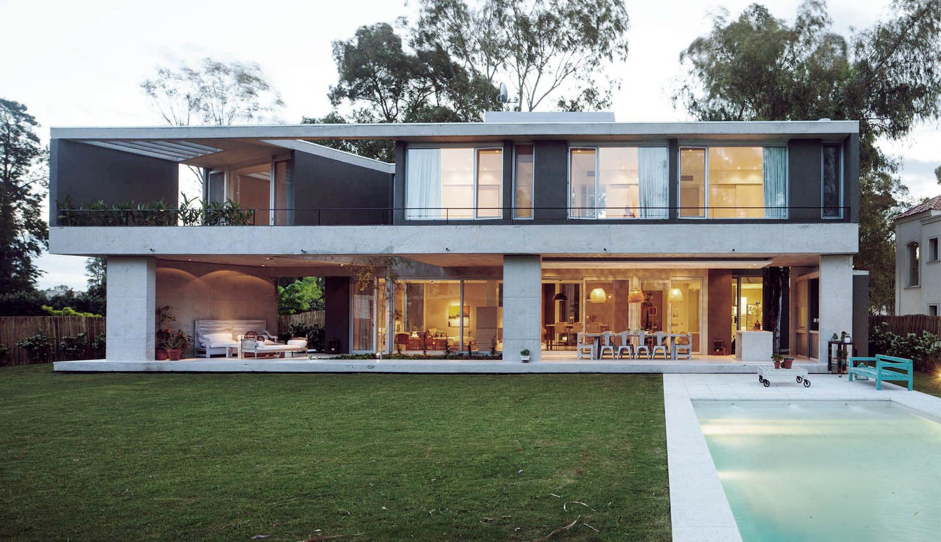 Amado cattaneo arquitectos casa e224 arquitectura for Portal de arquitectos casa de campo