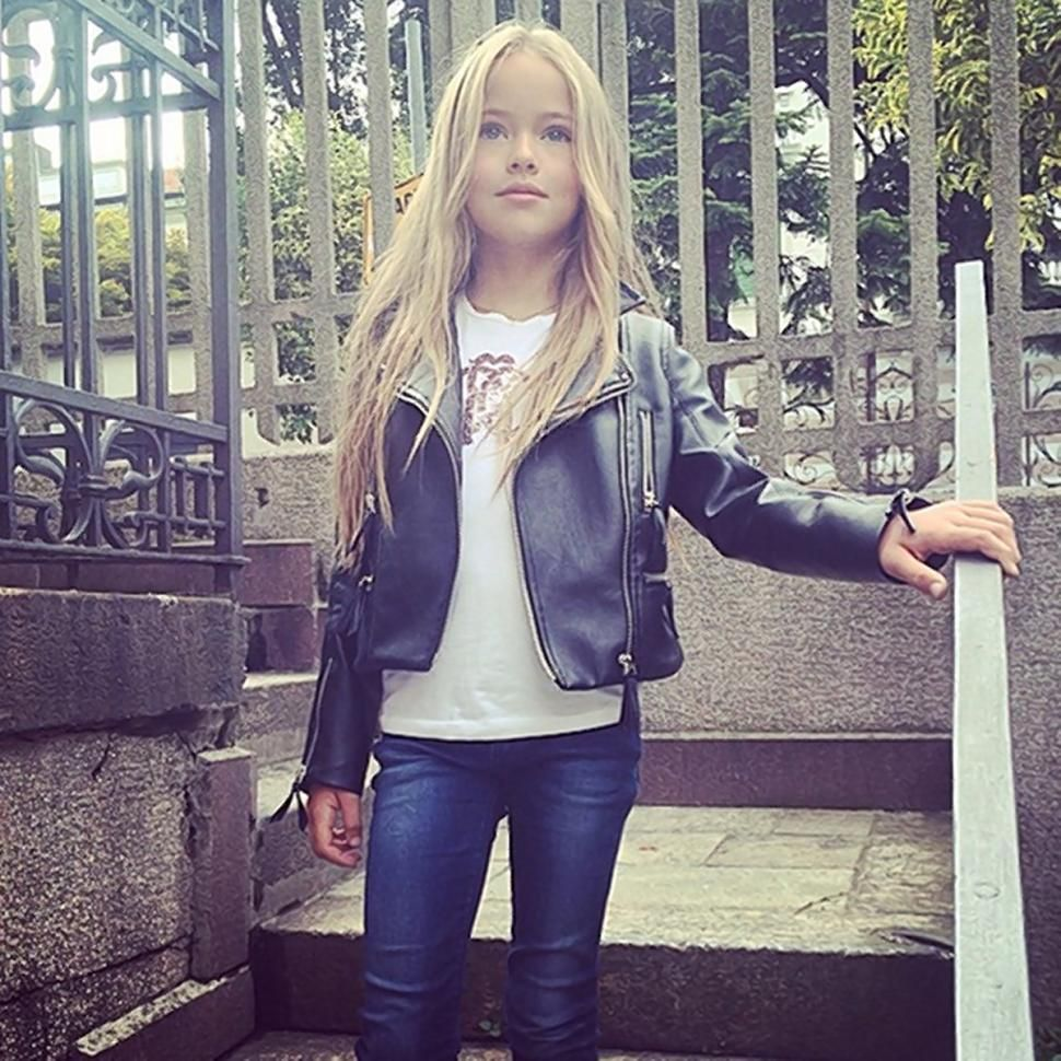Russian 9-Year-Old Supermodel Too Young, Critis Say -6572